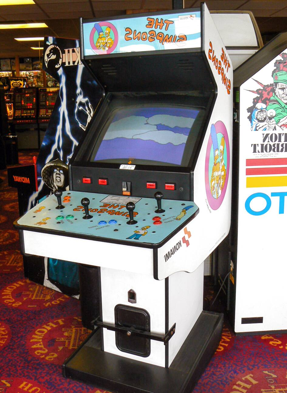 simpsons arcade for sale