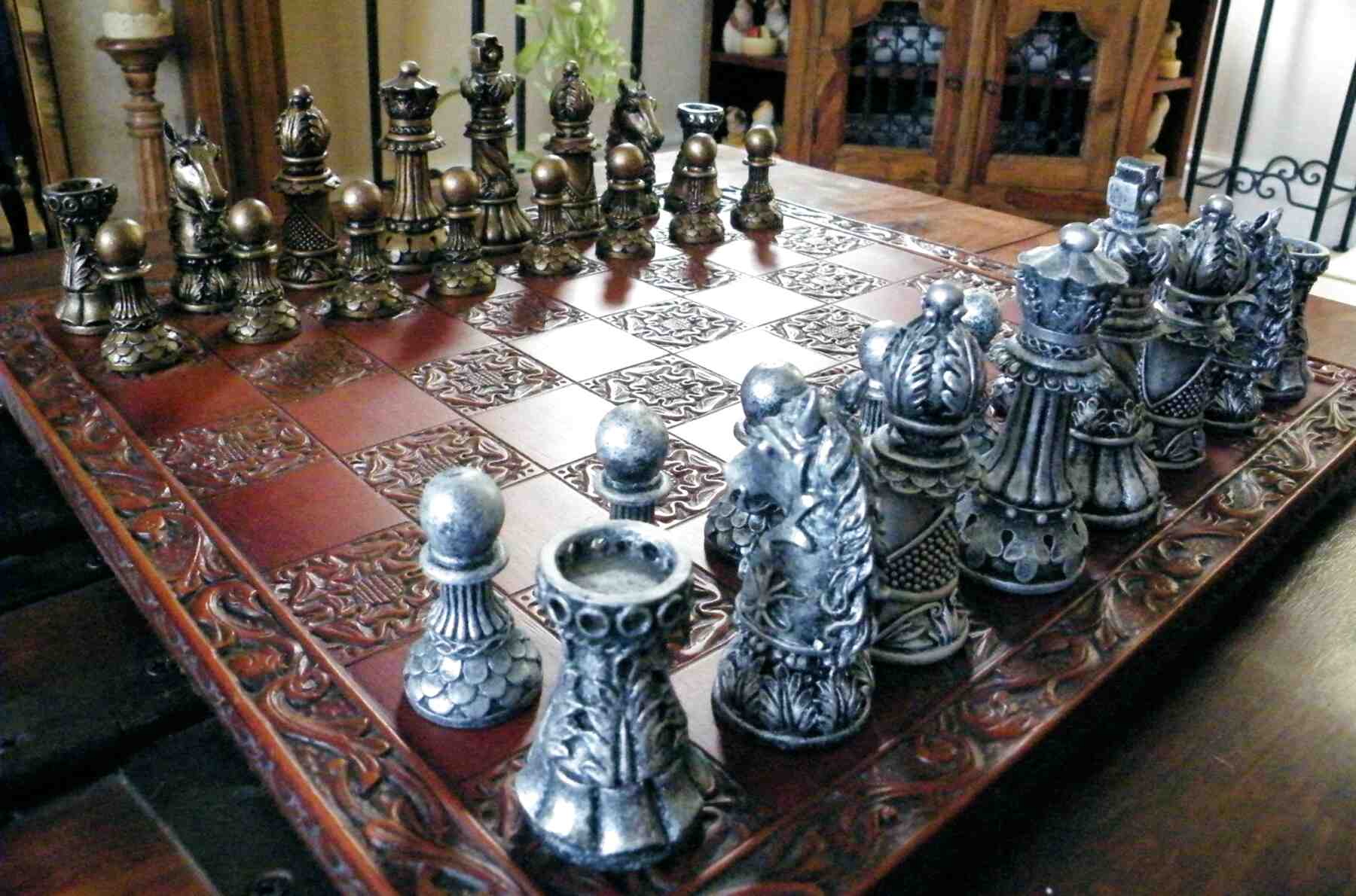 chess set molds for sale