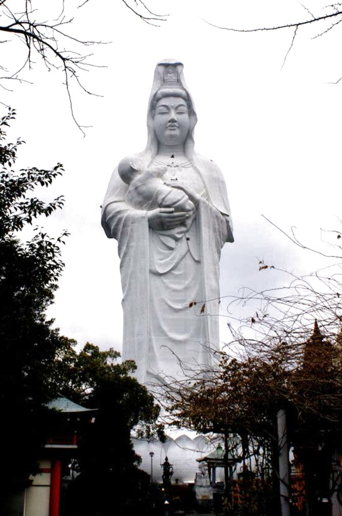 kannon statue for sale