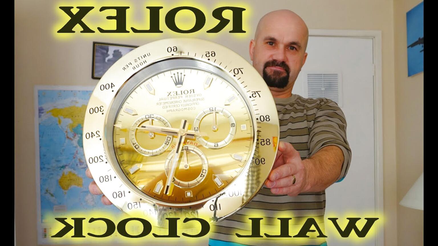 rolex clock for sale