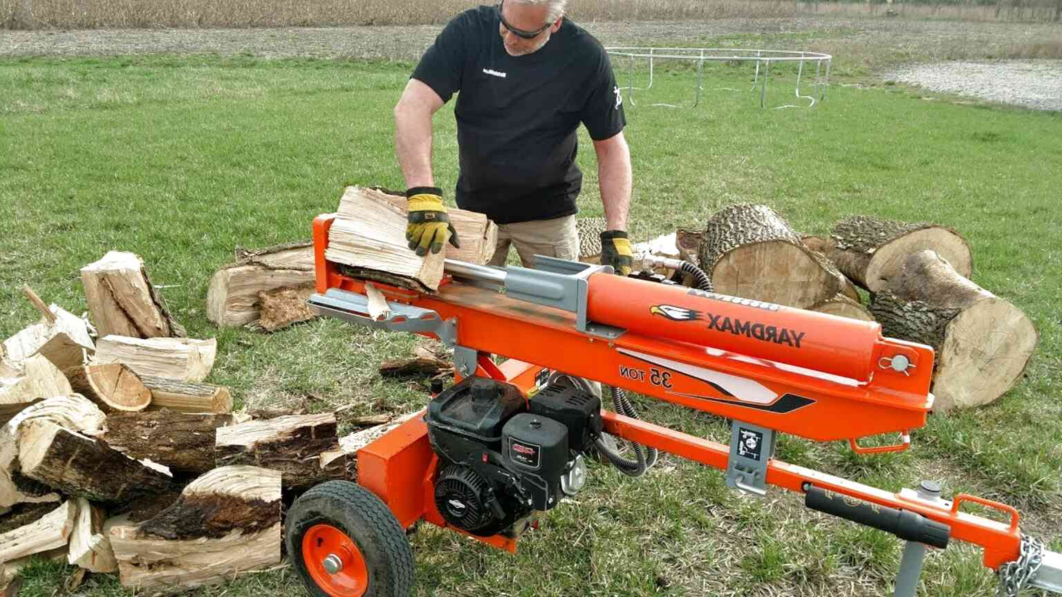 Wood Log Splitter for sale in Canada