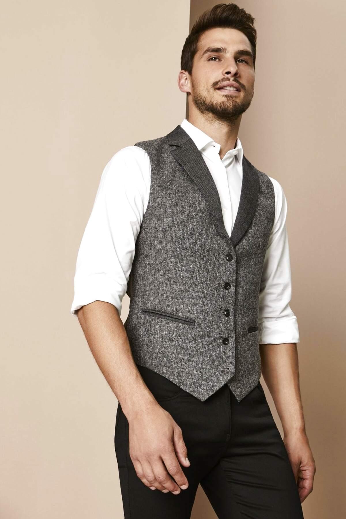 tweed waistcoat for sale