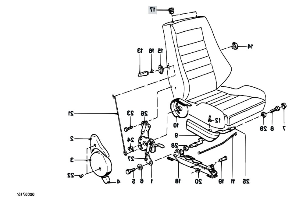 recaro seat parts for sale