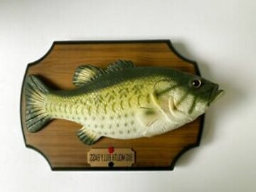 singing fish wall plaque for sale