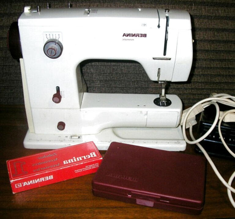 bernina 807 for sale