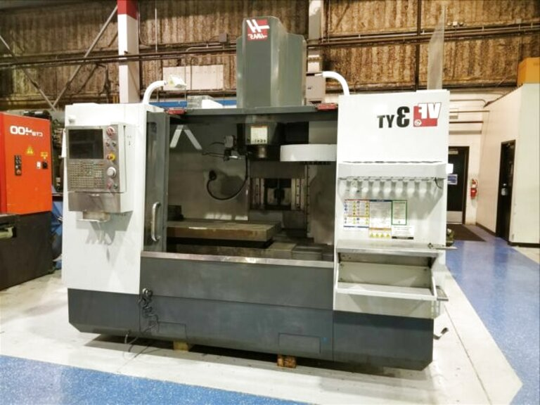 haas vertical machining center for sale