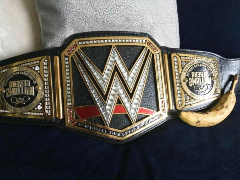 real wwe championship belt for sale
