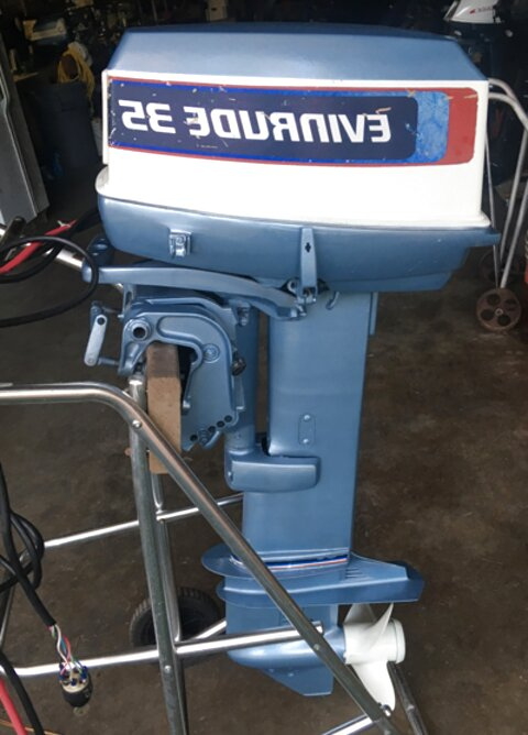 35 hp evinrude outboard for sale