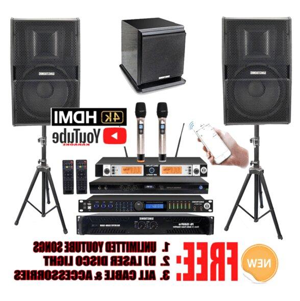 complete karaoke system for sale