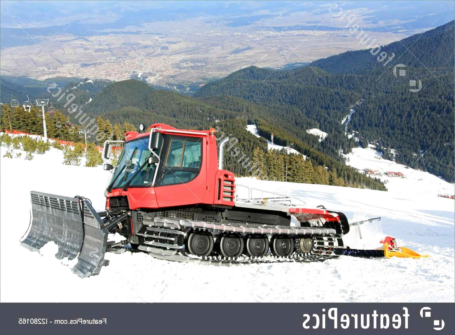 snow groomer for sale