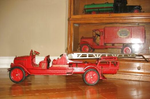 buddy l fire truck for sale