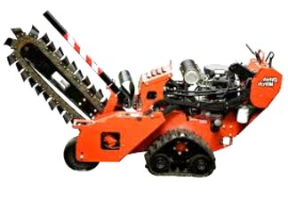 ditch witch walk behind trencher for sale