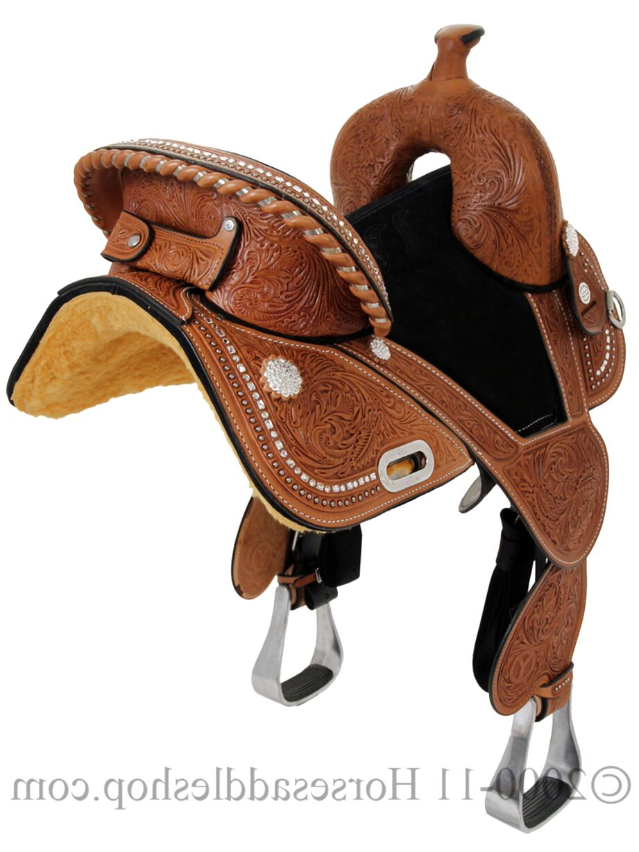 circle y treeless saddle for sale