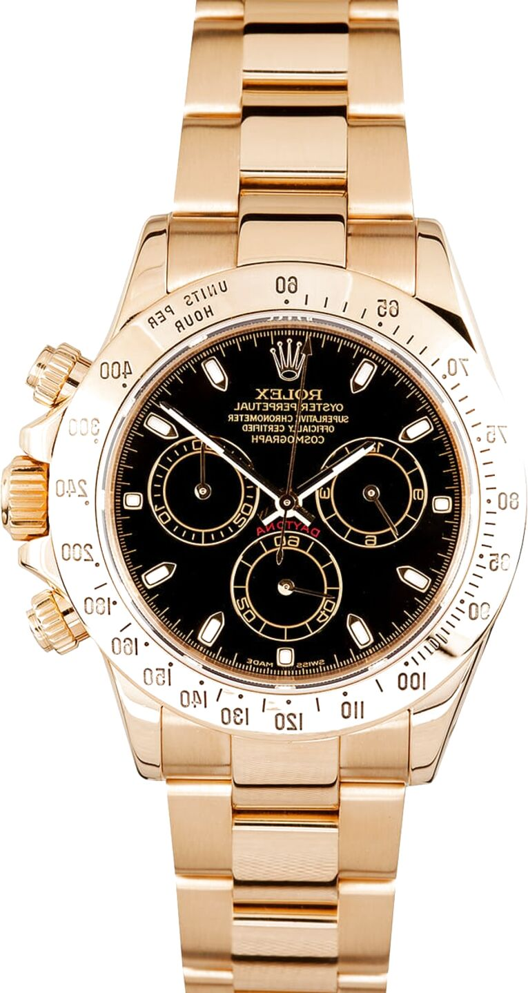 rolex daytona gold for sale